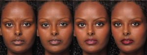 Black Models-study cosmetics on competence judgment
