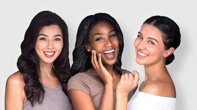 Latina complexion, African-American complexion, olive complexion, Mediterranean complexion, Asian complexion